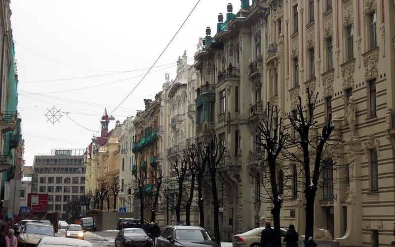 Albert Street (Alberta Iela), Riga