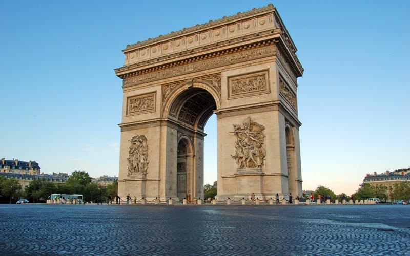 Arc de Triomphe de l'Étoile, Paris