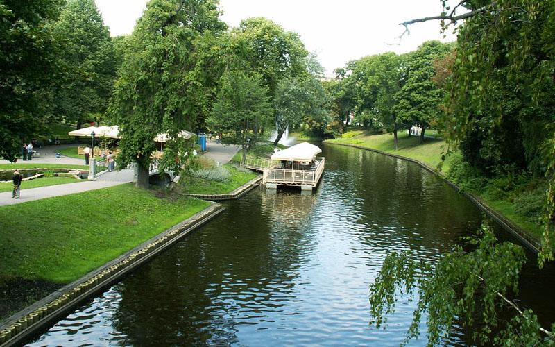City Canal (Pilsetas Kanals), Riga