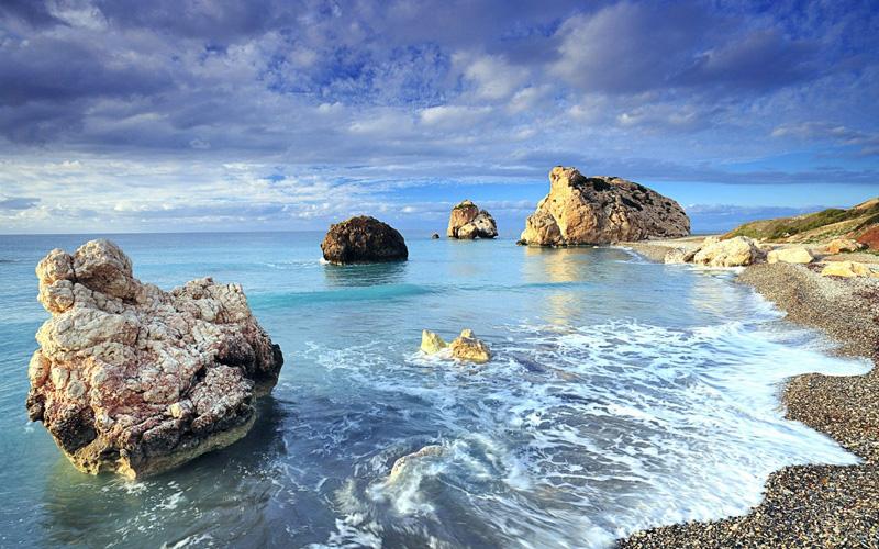 Petra tou Romiou (Aphrodite's Rock), Paphos