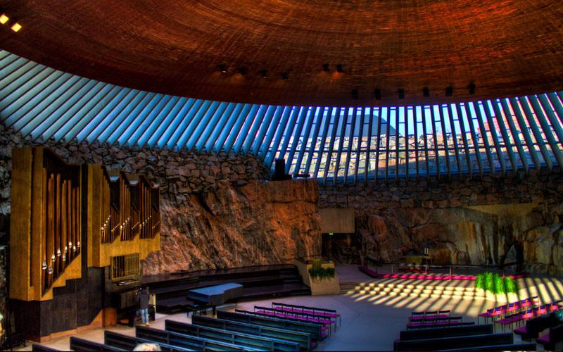 Temppeliaukio Church (Rock Church), Helsinki